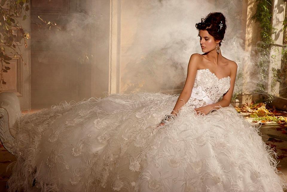 к чему снится свадебное платье на фото две