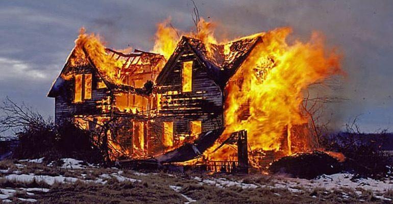 К чему снится, что горит дом