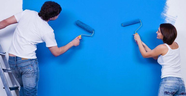 К чему снится красить стены дома