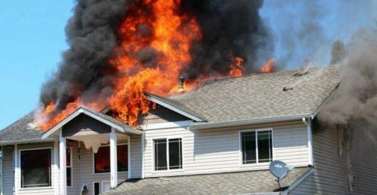 К чему снится пожар в доме