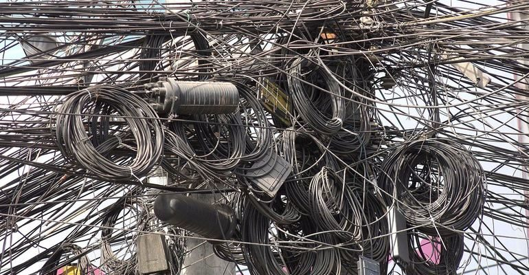 К чему снятся провода