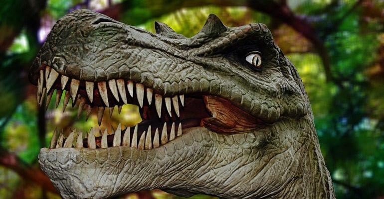 Приснился динозавр