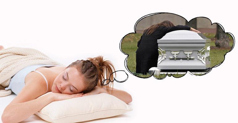 Смерть близкого во сне к чему это