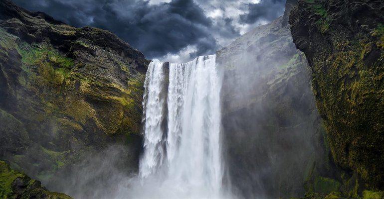 Соннник водопад