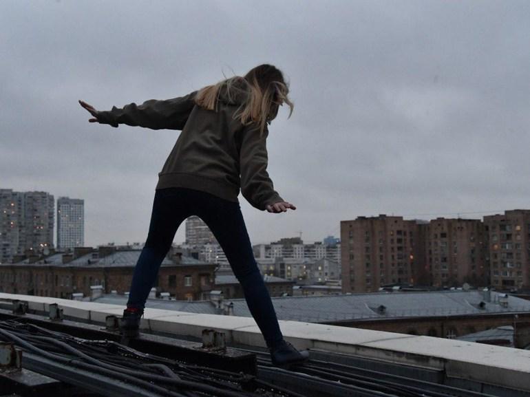 Картинки падающего с крыши
