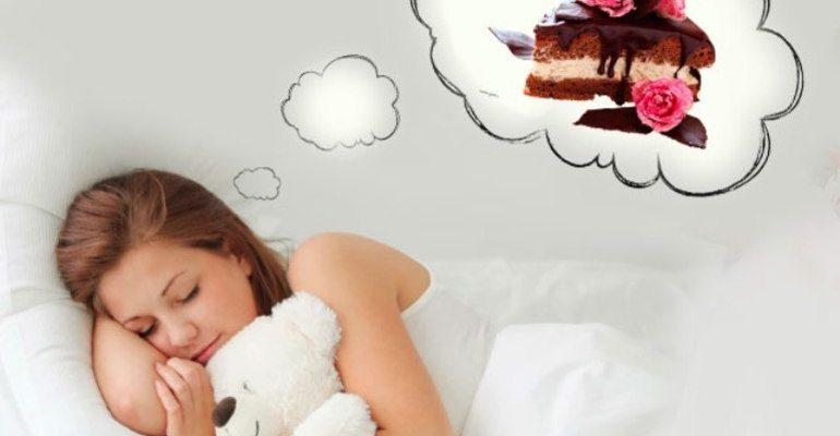 К чему снится есть торт