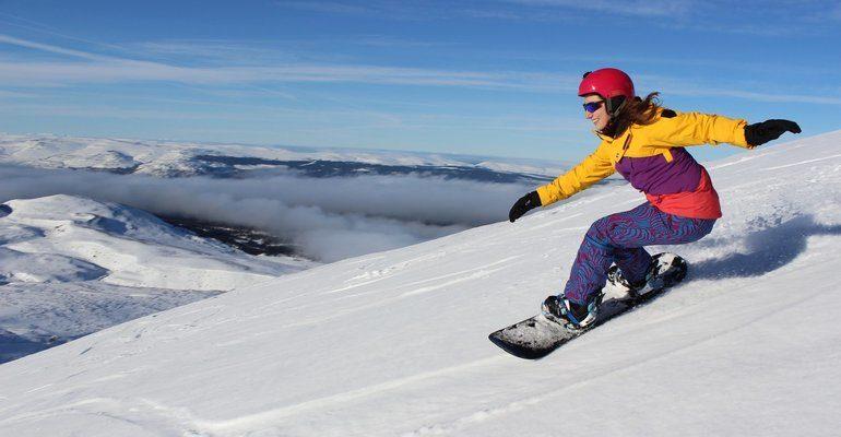 Кататься на сноуборде во сне к чему снится