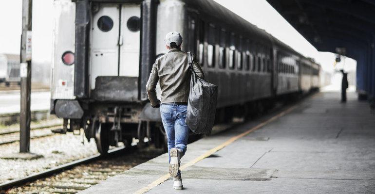 Сон бежать за поездом