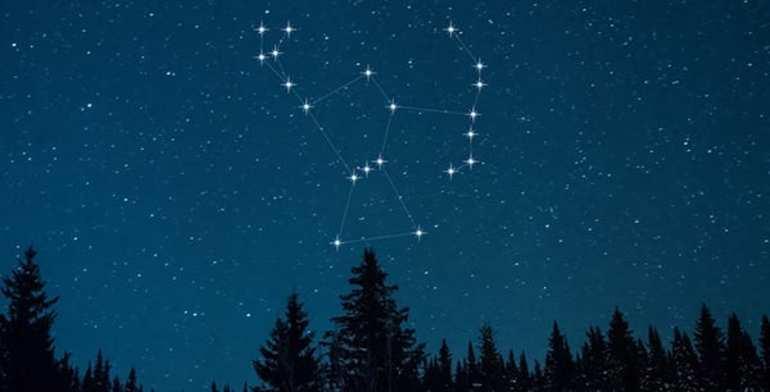 Созвездия на небе
