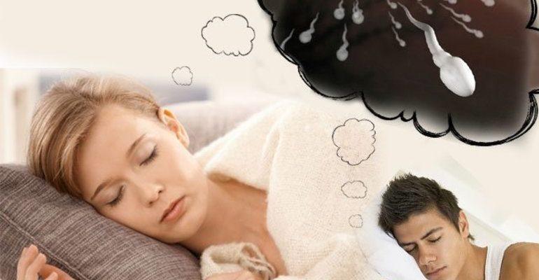 К чему снится сперма
