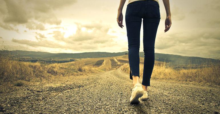 Идти пешком